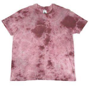 NWT Alternative Apparel Pink Tie Dye T-shirt XXL